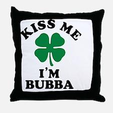 Funny Bubba Throw Pillow