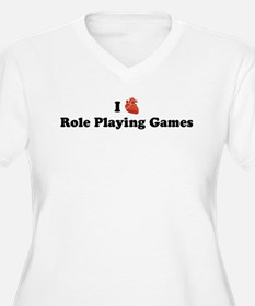 I (Heart) Role Playing Games T-Shirt