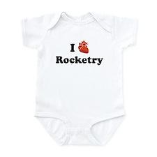 I (Heart) Rocketry Infant Bodysuit