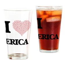 Cute Erica Drinking Glass