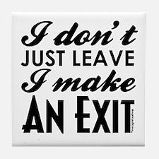 Exit Tile Coaster