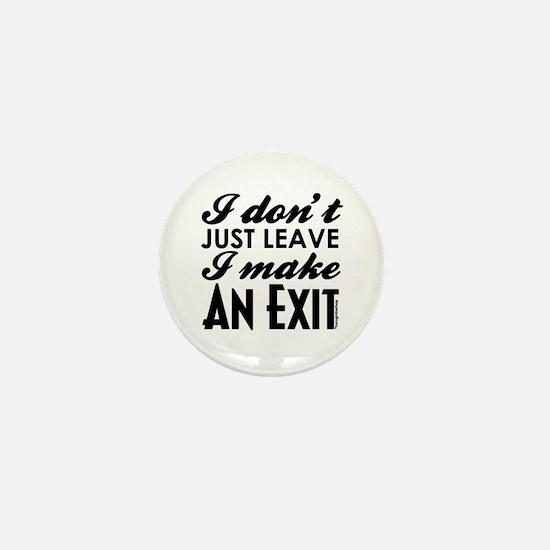 Exit Mini Button