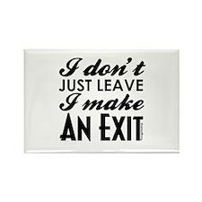 Exit Rectangle Magnet