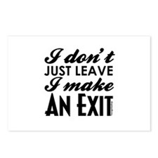 Exit Postcards (Package of 8)