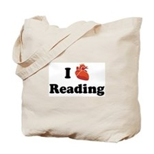 I (Heart) Reading Tote Bag