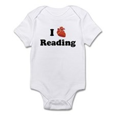 I (Heart) Reading Infant Bodysuit
