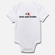 I (Heart) Arts and Crafts Infant Bodysuit
