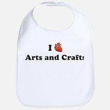 I (Heart) Arts and Crafts Bib