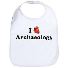 I (Heart) Archaeology Bib