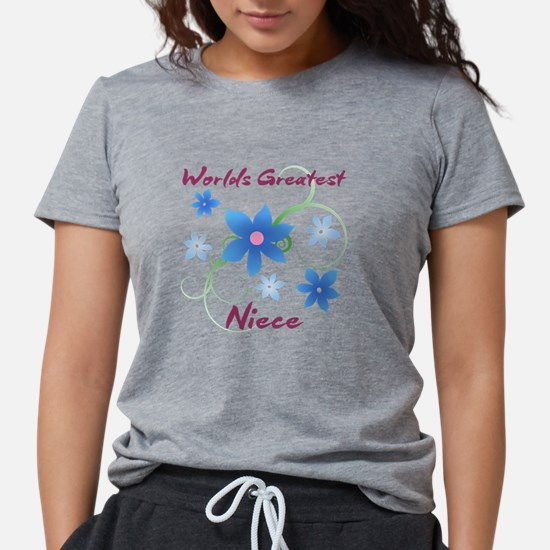 World's Greatest Niece (Flowery) T-Shirt