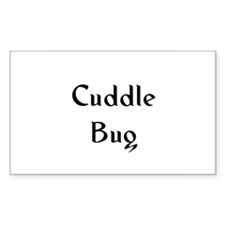 Cuddle Bug Rectangle Decal