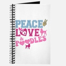Peace Love and POODLES! Journal