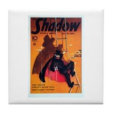 Funny Book of shadows Tile Coaster