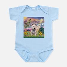 Cloud Angel West Highland Ter Infant Creeper