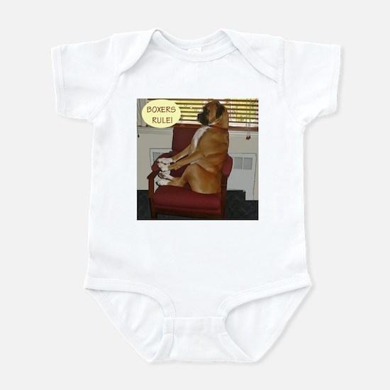 Jackson the Boxer Infant Bodysuit 10