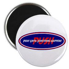 "Red White Blue PUSH 2.25"" Magnet (10 pack)"