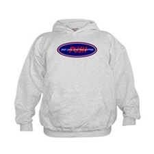 Red White Blue PUSH Hoodie