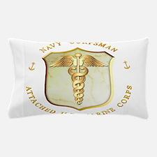 Busmc_usn_corpsman.png Pillow Case