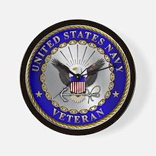 us_navy_v.png Wall Clock