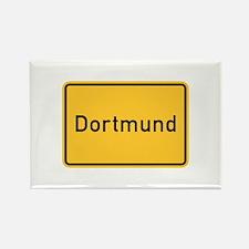 Dortmund Roadmarker, Germany Rectangle Magnet