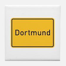 Dortmund Roadmarker, Germany Tile Coaster