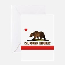 cal_flag2 Greeting Cards