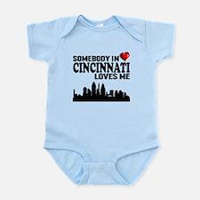 Somebody In Cincinnati Loves Me Body Suit