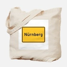 Nuremberg Roadmarker, Germany Tote Bag