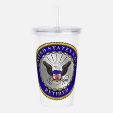us_navy_r.png Acrylic Double-wall Tumbler