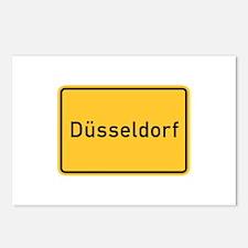 Düsseldorf Roadmarker, Germany Postcards (Package