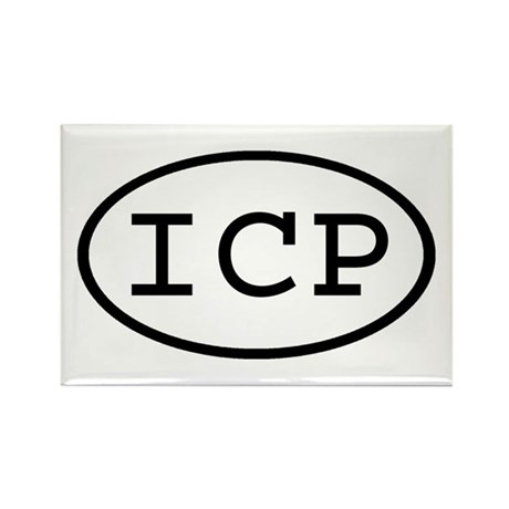 ICP Oval Rectangle Magnet