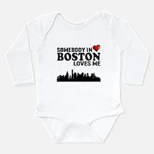 Somebody In Boston Loves Me Body Suit