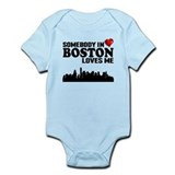 Someone in boston Bodysuits