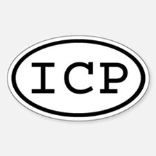 ICP Oval Oval Decal