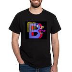 FACE OF THE LETTER B Dark T-Shirt