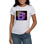 FACE OF THE LETTER B Women's T-Shirt