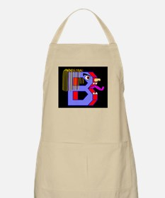 FACE OF THE LETTER B BBQ Apron