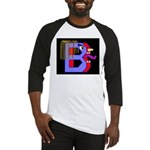 FACE OF THE LETTER B Baseball Jersey