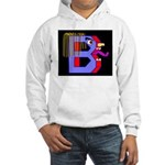 FACE OF THE LETTER B Hooded Sweatshirt