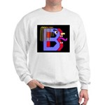 FACE OF THE LETTER B Sweatshirt