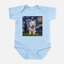 Starry Night & West Hightland Infant Creeper