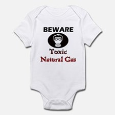 Beware, toxic natural gas Infant Bodysuit