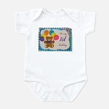 Boy 1st birthday Infant Bodysuit