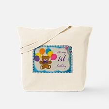 Boy 1st birthday Tote Bag