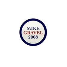Mike Gravel 2008 Mini Button