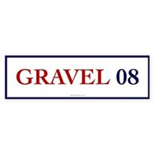 Gravel 08 Bumper Bumper Sticker