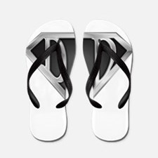 Chrome Super Dad Flip Flops