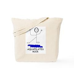 AQUAPILATES ROCK Tote Bag