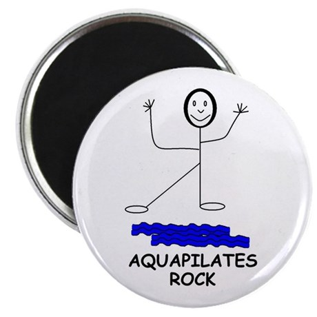 "AQUAPILATES ROCK 2.25"" Magnet (10 pack)"