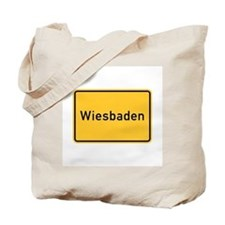 Wiesbaden Roadmarker, Germany Tote Bag
